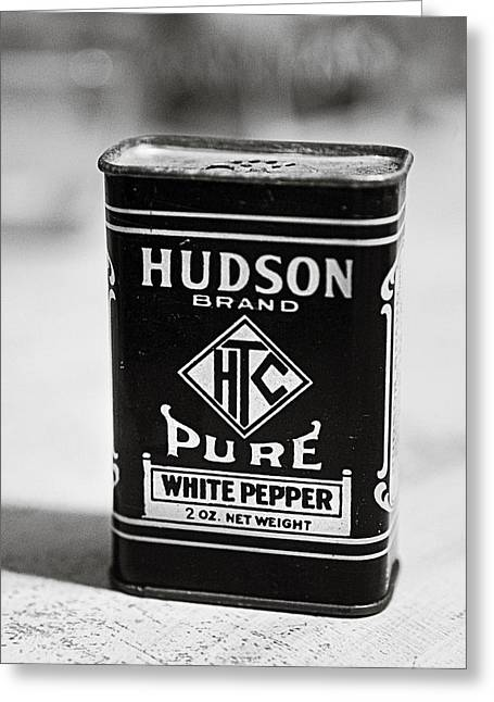 Htc Greeting Cards - White Pepper Greeting Card by Marilyn Hunt