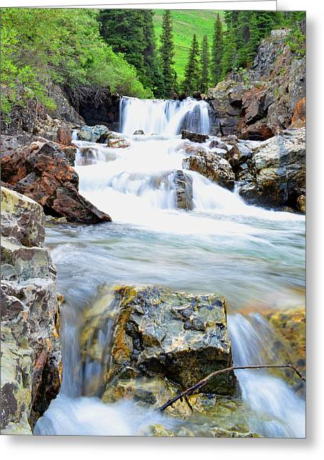 Mike Schmidt Photographs Greeting Cards - White River Greeting Card by Mike Schmidt