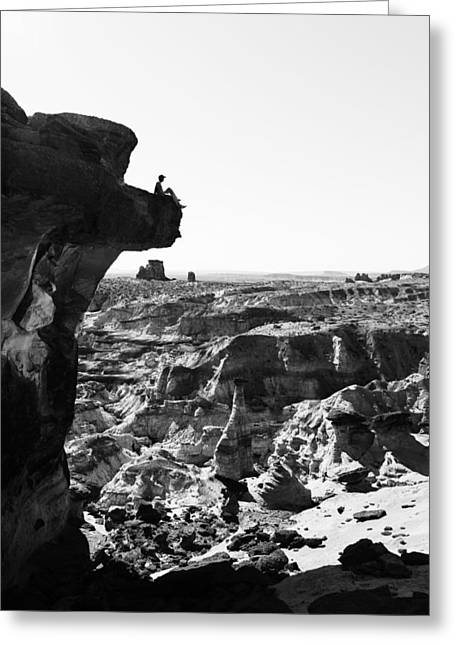 Escalante National Monument Greeting Cards - White Rocks Greeting Card by Chad Dutson