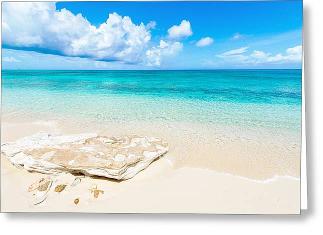 Oceanscape Greeting Cards - White Sand Greeting Card by Chad Dutson