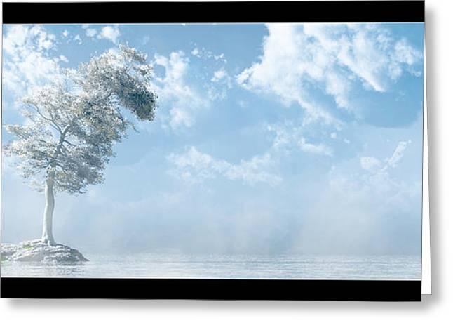 White Tree... Greeting Card by Tim Fillingim
