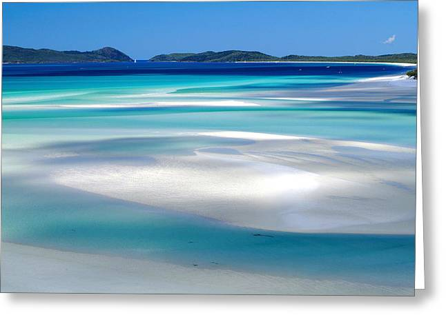 Joannes Greeting Cards - Whitehaven Beach The Whitsundays Queensland Australia Greeting Card by Thomas Joannes