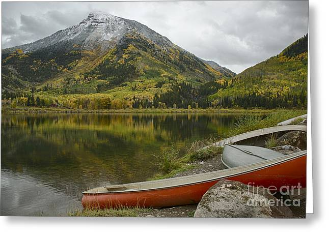 Whitehouse Mountain Greeting Card by Idaho Scenic Images Linda Lantzy