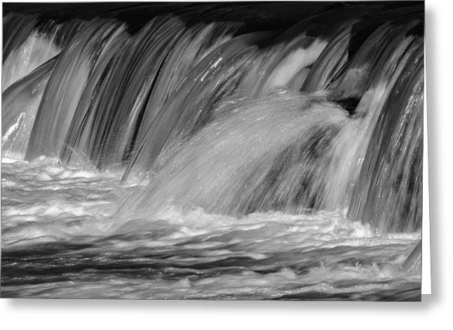 James Barber Greeting Cards - Whitewater Greeting Card by James Barber