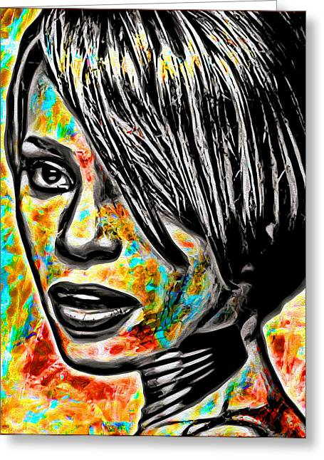 I Will Always Love You Greeting Cards - Whitney Greeting Card by Daniel Janda