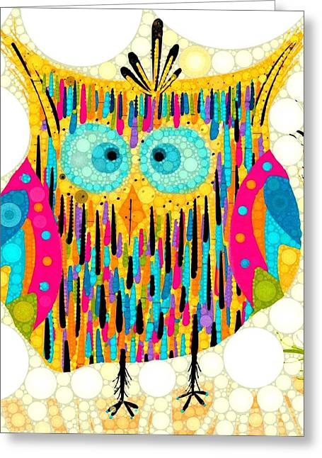 Creating Digital Greeting Cards - Who Greeting Card by Steven Boland