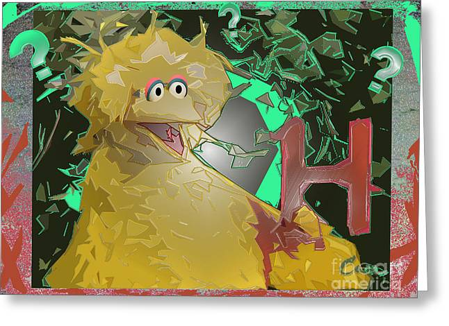 Take Down Greeting Cards - Who The Hell Is NEXT Greeting Card by Feile Case