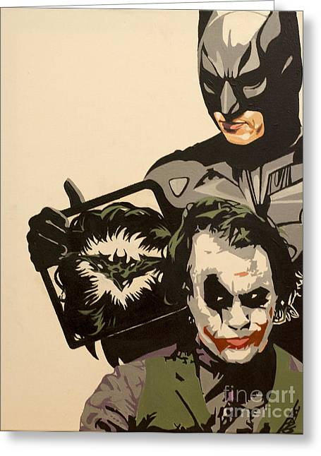 Clippers Mixed Media Greeting Cards - Why so Serious Greeting Card by Barbartisan Llc