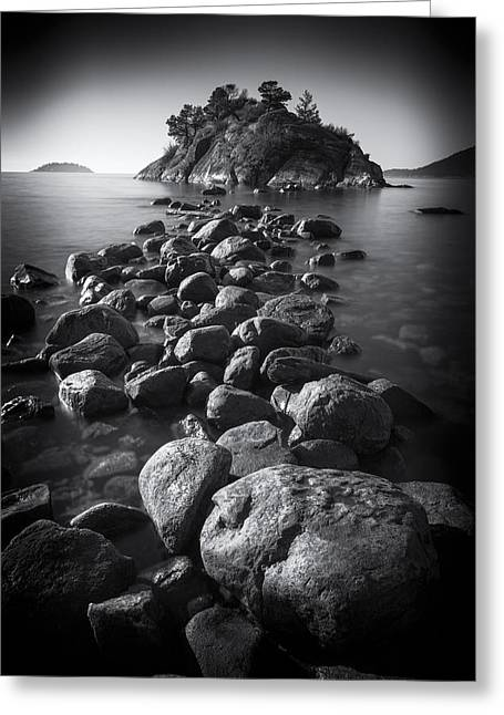 West Vancouver Greeting Cards - Whytecliff Park Greeting Card by Paul W Sharpe Aka Wizard of Wonders