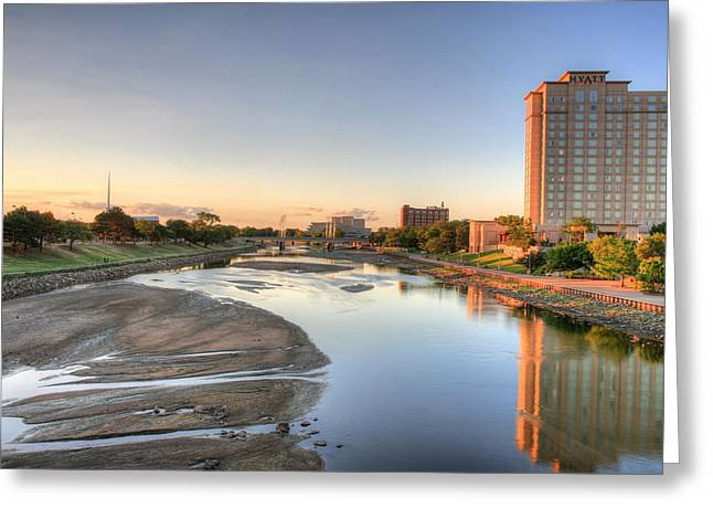 Wichita Greeting Card by JC Findley
