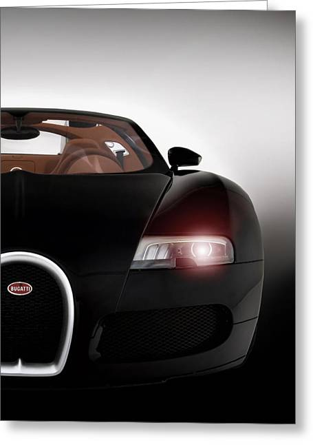 Bugatti Greeting Cards - Wicked Veyron Greeting Card by Peter Chilelli