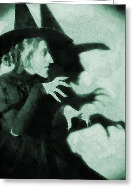Toto Greeting Cards - Wicked Witch Of The West Greeting Card by Dan Sproul