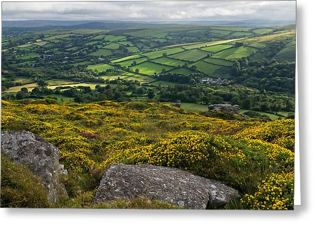 Hamels Photographs Greeting Cards - Widdecombe in the Moor Greeting Card by Pete Hemington