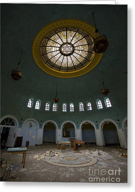 Sanitarium Greeting Cards - Wide Angle Greeting Card by Mark Baker