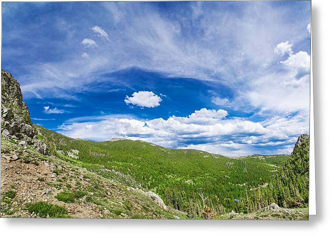 Wide Open Spaces Greeting Card by Mark Andrew Thomas
