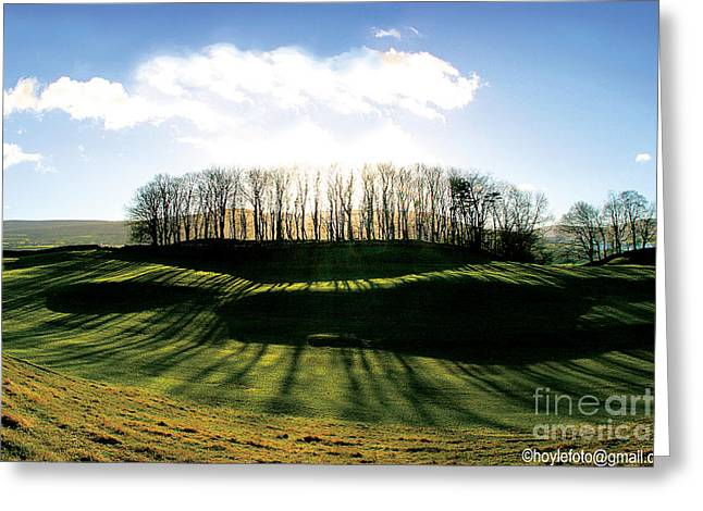 Quakers Digital Art Greeting Cards - Wider Visions - going beyond Greeting Card by Mike Hoyle