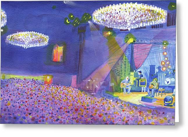Widespread Panic Wood Tour At Fillmore Auditorium Denver Greeting Card by David Sockrider