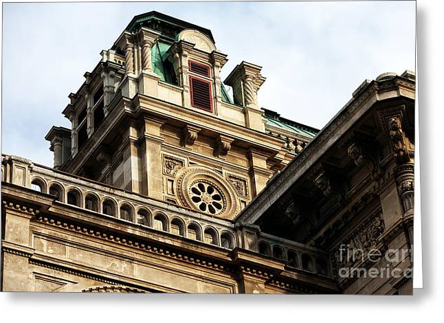 Wien Greeting Cards - Wien Angles Greeting Card by John Rizzuto