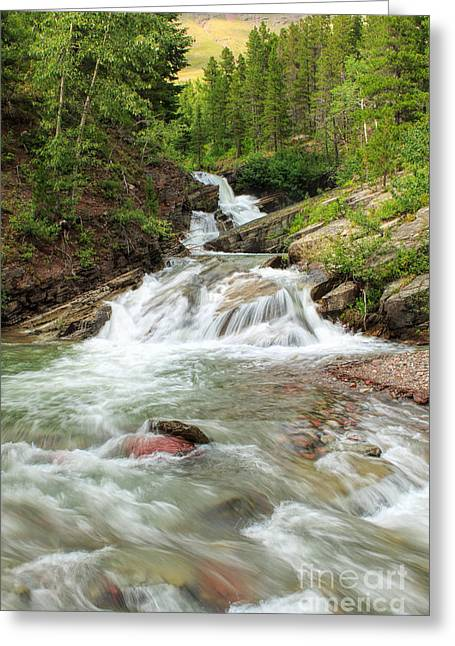 High Country Greeting Cards - Wilbur Creek Greeting Card by Reflective Moment Photography And Digital Art Images