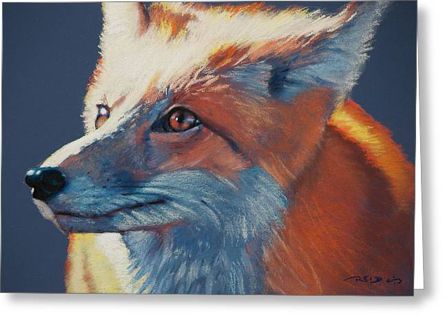 Fox Greeting Cards - Wilbur Fox Greeting Card by Christopher Reid