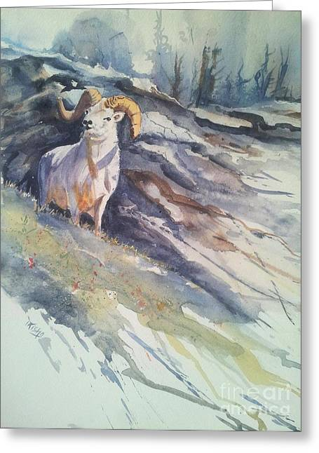 Hunting Cabin Greeting Cards - Wild At Heart Greeting Card by Patricia Pushaw