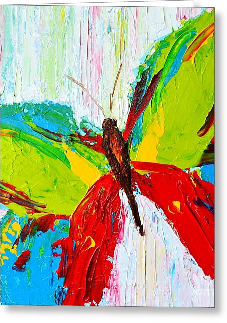 Forest Creature Greeting Cards - Wild Butterflies II Greeting Card by Patricia Awapara