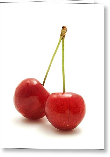 Nero Greeting Cards - Wild cherry Greeting Card by Fabrizio Troiani