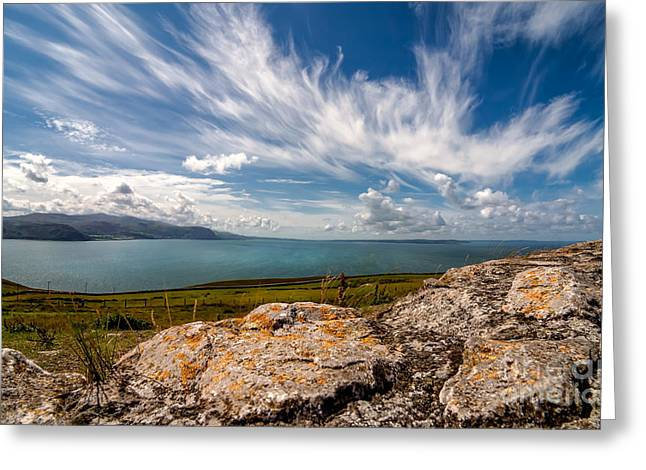 Wild Clouds Greeting Card by Adrian Evans