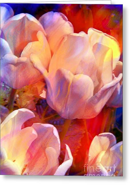 Spring Bulbs Greeting Cards - Wild Colors Greeting Card by Kathleen Struckle