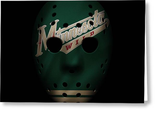 Skate Greeting Cards - Wild Jersey Mask Greeting Card by Joe Hamilton