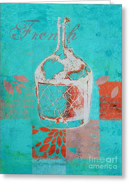 Turquoise Blue Greeting Cards - Wild Still Life - 12311a Greeting Card by Variance Collections
