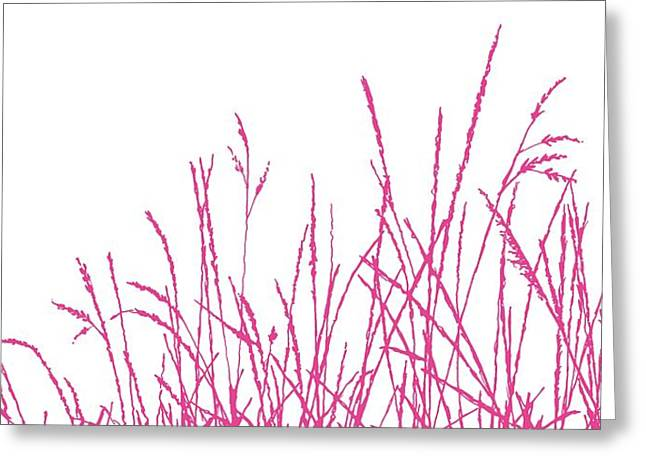 Grass Digital Art Greeting Cards - Wild Whisper Greeting Card by Sarah Hough