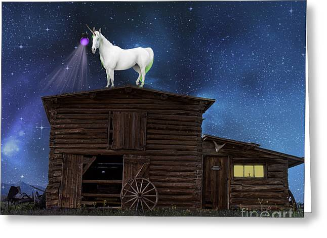 Surreal Landscape Photographs Greeting Cards - Wild Wild West Greeting Card by Juli Scalzi
