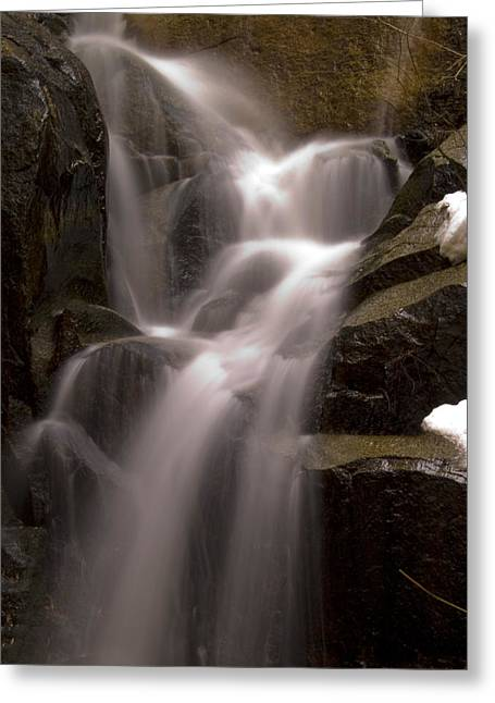 Bill Gallagher Photography Greeting Cards - Wildcat Falls Greeting Card by Bill Gallagher