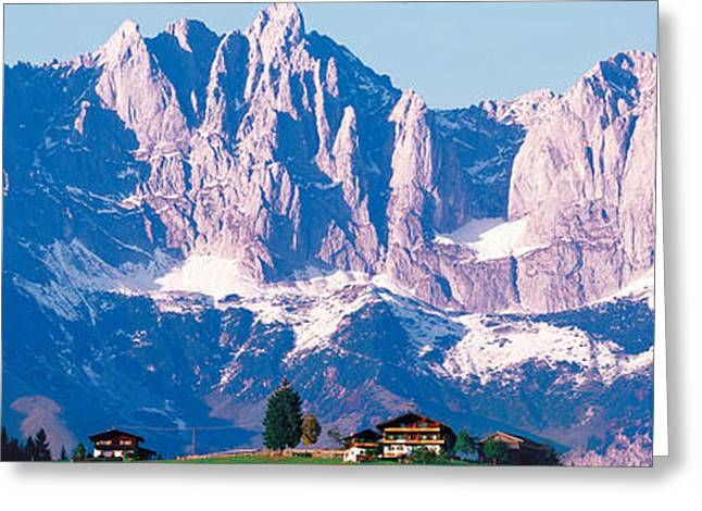 Mts Greeting Cards - Wilder Kaiser Tirol Austria Greeting Card by Panoramic Images