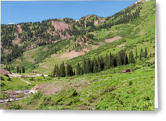 Crested Butte Greeting Cards - Wilderness Area And Snake River Greeting Card by Panoramic Images
