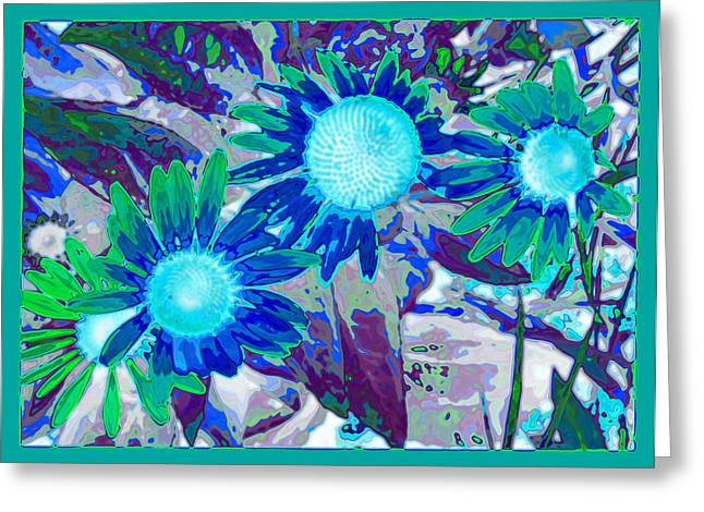 Tom Druin Greeting Cards - Wildflower Greeting Card by Tom Druin