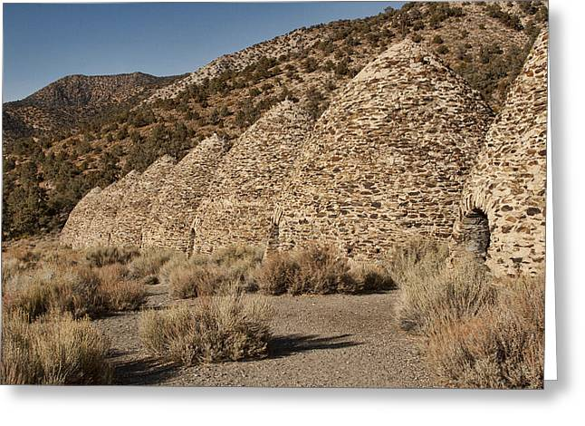 Charcoal Ovens Greeting Cards - Wildrose Charcoal Kilns Greeting Card by Hugh Smith