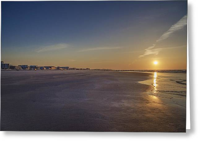 Wildwood Greeting Cards - Wildwood Crest at Sunrise Greeting Card by Bill Cannon