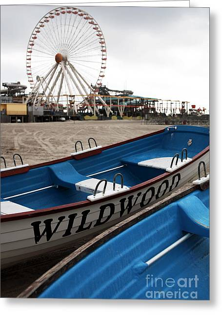 Old School Galleries Greeting Cards - Wildwood Greeting Card by John Rizzuto