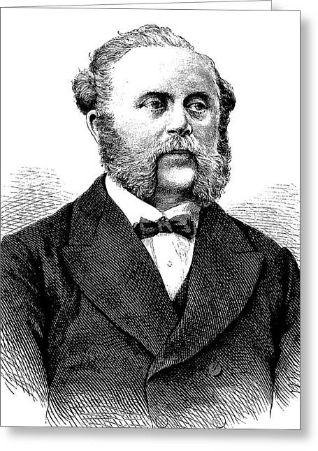 Wilhelm Foerster Greeting Card by Bildagentur-online/tschanz