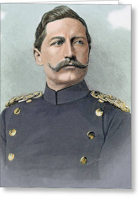 Wilhelm II Of Germany (potsdam Greeting Card by Prisma Archivo