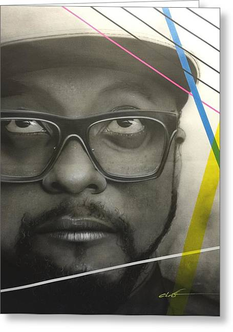 I Will Greeting Cards - Will i am Power Greeting Card by Christian Chapman Art