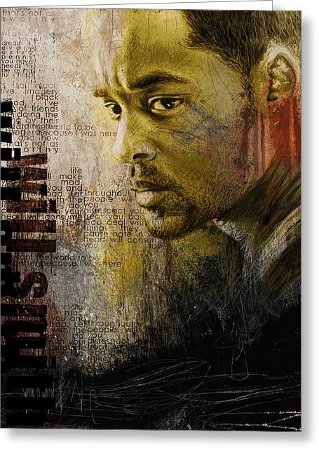 American Artist Greeting Cards - Will Smith Greeting Card by Corporate Art Task Force