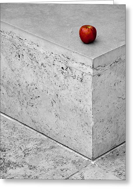 Apple Photographs Greeting Cards - Will Someone Take You Home? Greeting Card by Alexis Birkill