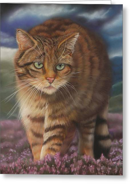 Sizes Pastels Greeting Cards - Will ye no come back again? Greeting Card by Diane Sinclair