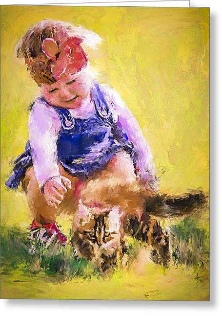 House Pet Greeting Cards - Will you be my friend Greeting Card by Yury Malkov