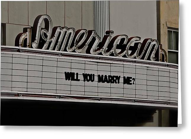 Will You Marry Me Greeting Cards - Will You Marry Me? Greeting Card by Brent Paape