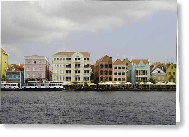 Willemstad Greeting Card by Erin Cadigan