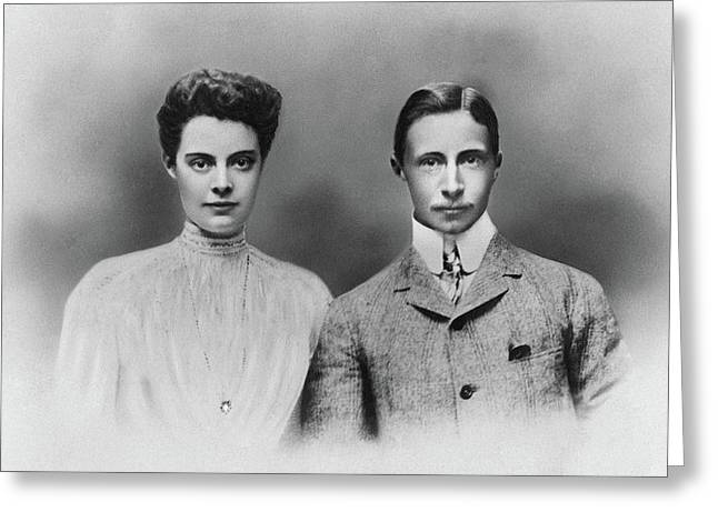 William And Cecilie, C1905 Greeting Card by Granger